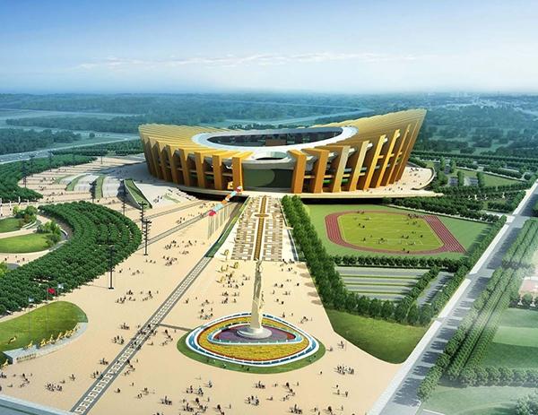 鄂尔多斯体育中心线路工程