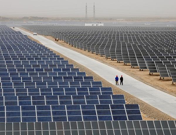 哈密烟墩第六光伏电场200兆瓦二期项目