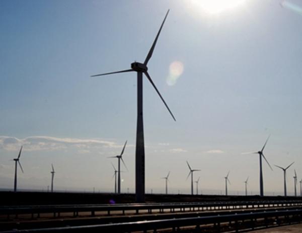 龙源陕西风力发电有限公司马头滩项目