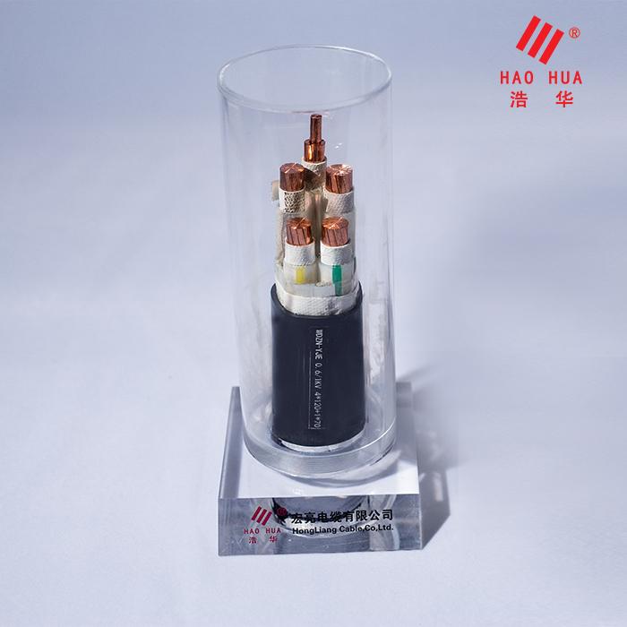 低烟无卤电缆 WDZN-YJE 0.6/1KV 4×120+1×70