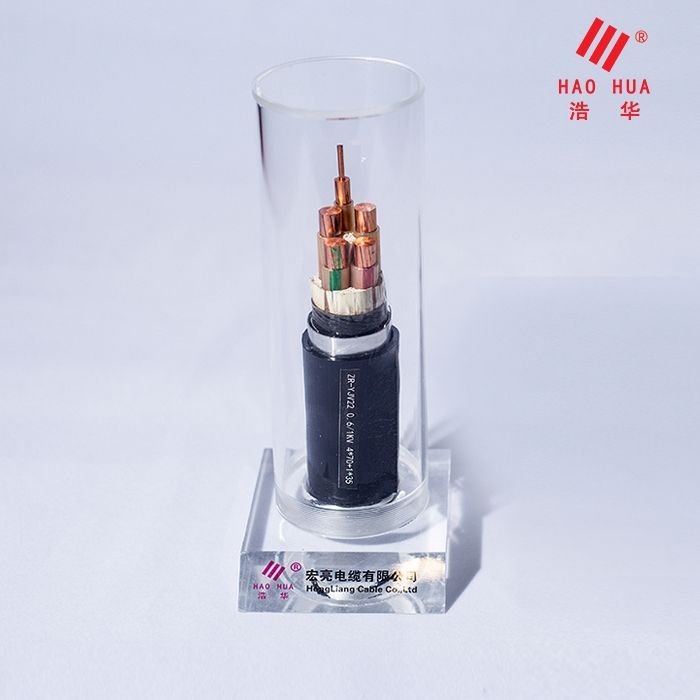 低压电缆 ZR-YJV22 0.6/1KV 4×70+1×35